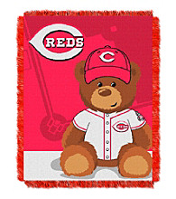 Cincinnati Reds Baby Jacquard Throw Field