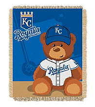 Kansas City Royals Baby Jacquard Throw Field