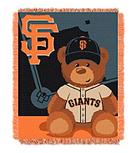 San Francisco Giants Baby Jacquard Throw Field
