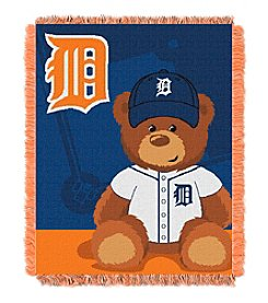 Detroit Tigers Baby Jacquard Throw Field