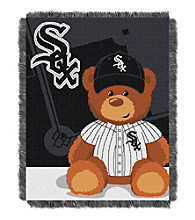 Chicago White Sox Baby Jacquard Throw Field