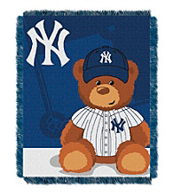 New York Yankees Baby Jacquard Throw Field