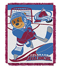 Colorado Avalanche Baby Jacquard Score Throw