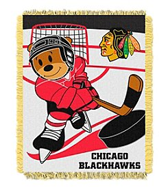 Chicago Blackhawks Baby Jacquard Score Throw