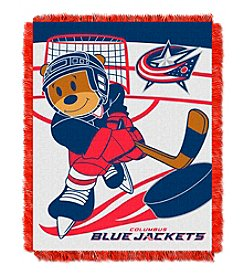 Columbus Blue Jackets Baby Jacquard Score Throw