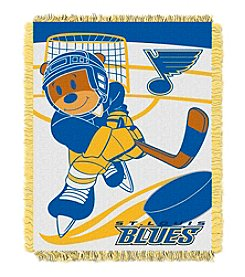 St. Louis Blues Baby Jacquard Score Throw