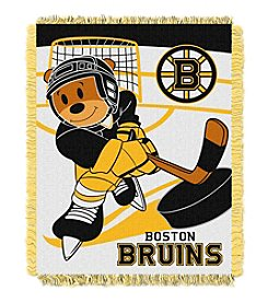 Boston Bruins Baby Jacquard Score Throw