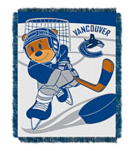 Vancouver Canucks Baby Jacquard Score Throw