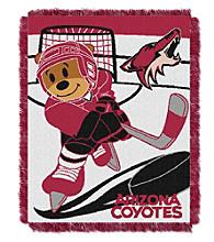 Phoenix Coyotes Baby Jacquard Score Throw