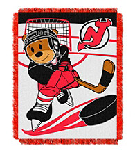 New Jersey Devils Baby Jacquard Score Throw