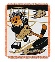 Anaheim Ducks Baby Jacquard Score Throw