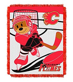 Calgary Flames Baby Jacquard Score Throw