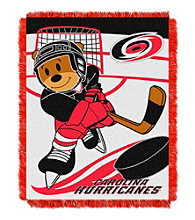Carolina Hurricanes Baby Jacquard Score Throw
