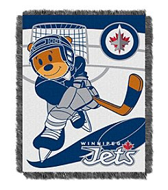 Winnipeg Jets Baby Jacquard Score Throw