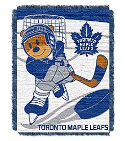 NHL® Toronto Maple Leafs Baby Jacquard Score Throw