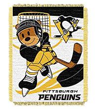 Pittsburgh Penguins Baby Jacquard Score Throw