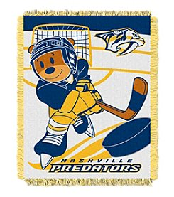 Nashville Predators Baby Jacquard Score Throw