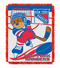 New York Rangers Baby Jacquard Score Throw