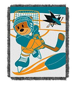 San Jose Sharks Baby Jacquard Score Throw