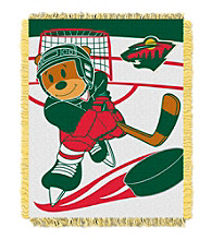 Minnesota Wild Baby Jacquard Score Throw