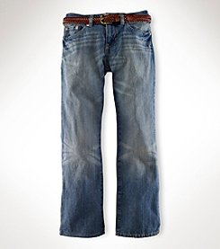 Ralph Lauren Boys' 8-20 Mott Slim Fit Jeans