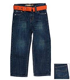 Lee® Boys' 2T-4T Antique Blue Nash Belted Jeans