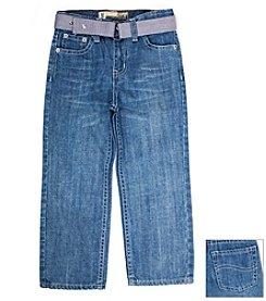 Lee® Boys' 2T-4T Bleeker Wash Nash Belted Jeans