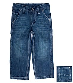 Lee® Boys' 12M-4T Dark Indigo Sand Contractor Relaxed Fit Jeans