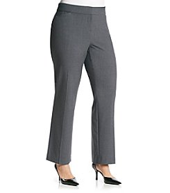Briggs New York® Plus Size Curvy Trouser Pants