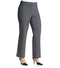 Briggs New York® Plus Size Curvy Trouser Pants
