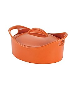 Rachael Ray® Stoneware 2.5-qt. Orange Oval Casserole