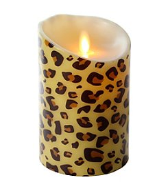 Luminara® Cheetah Pattern Flameless 5