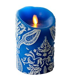 Luminara® Damask Embossed Flameless 5