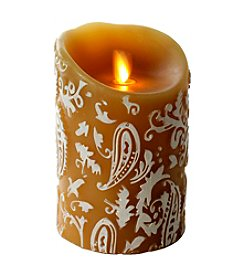 Luminara® Paisley Embossed Flameless 5