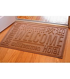 Bungalow Flooring WaterGuard World Wide Welcome 2'x3' Mat
