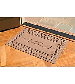 Bungalow Flooring WaterGuard Greek Key 2'x3' Welcome Mat