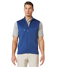 Callaway® Men's Full-Zip Stretch Fleece Vest