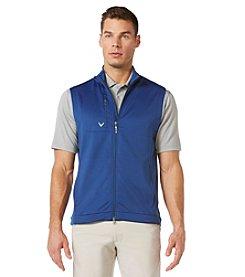 Callaway® Men's Full-Zip Stretch Fleece Vest
