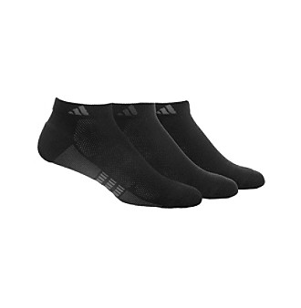 adidas® Men's Black 3-Pack Climalite Superlite Sock