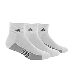 adidas® Men's 3-Pack Climacool Superlite Quarter Socks