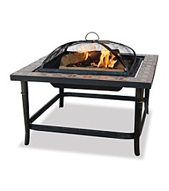 UniFlame® Wood Burning Outdoor Fireplace
