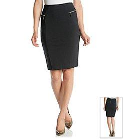MICHAEL Michael Kors® Zip Ponte Skirt