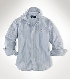 Ralph Lauren Boys' 2T-4T Striped Oxford Shirt