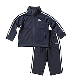 adidas® Baby Boys' 2-pc. Tricot Athletic Outfit Set
