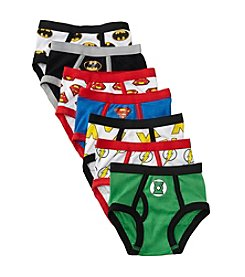 DC Comics Justice League Boys' 2T-4T Assorted 7-pk. Briefs