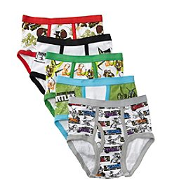 Teenage Mutant Ninja Turtles® Boys' 4-8 Assorted 5-pk. Ninja Turtles Briefs
