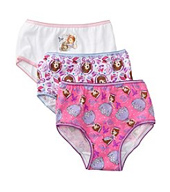 Disney® Girls' 2T-4T Assorted 3-pk. Sofia Underwear