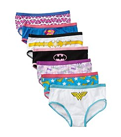 DC Comics Justice League Girls' 4-8 Assorted 7-pk. Underwear