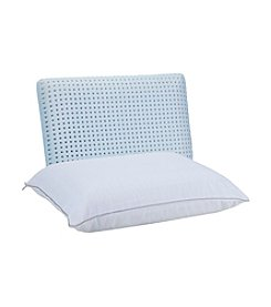Authentic Comfort® Blue Caress™ Memory Foam Jumbo Pillow