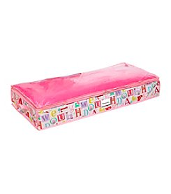 Laura Ashley PVC Coated Owl Alphabet Under-The-Bed Bag